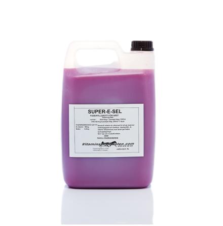 SUPER-E-SEL e-vitamin med selen & lysin   pH-reglerad :7.35