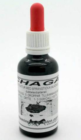 Chaga Elixir flytande form (sprängticka)